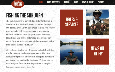 New Website for Southwest Anglers